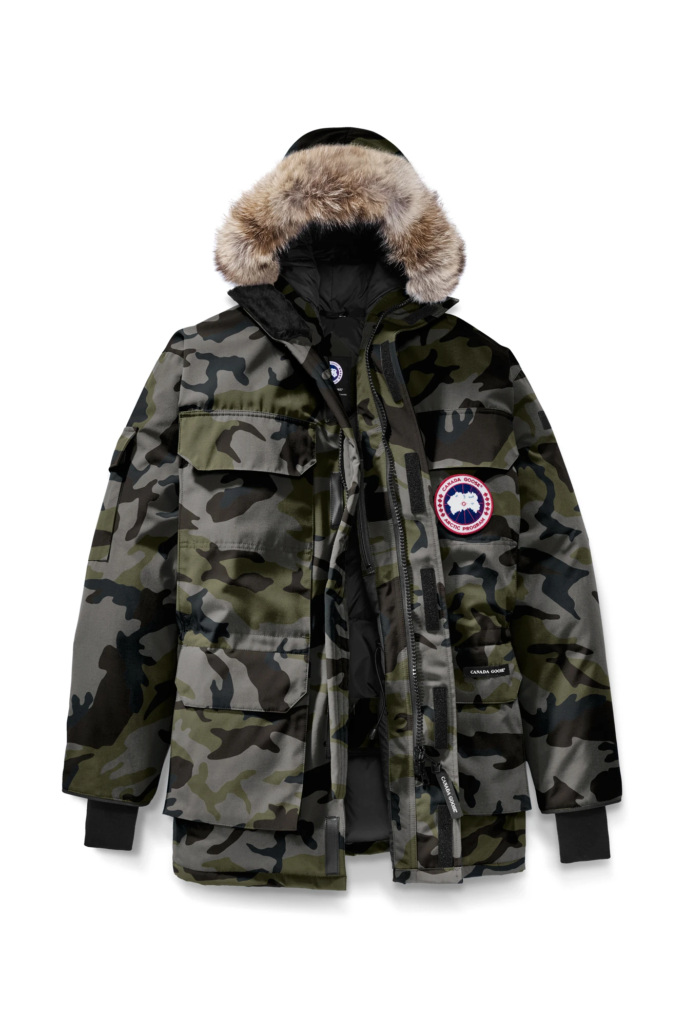 Canada Goose M Expedition Parka Classic Camo Coastal Grey