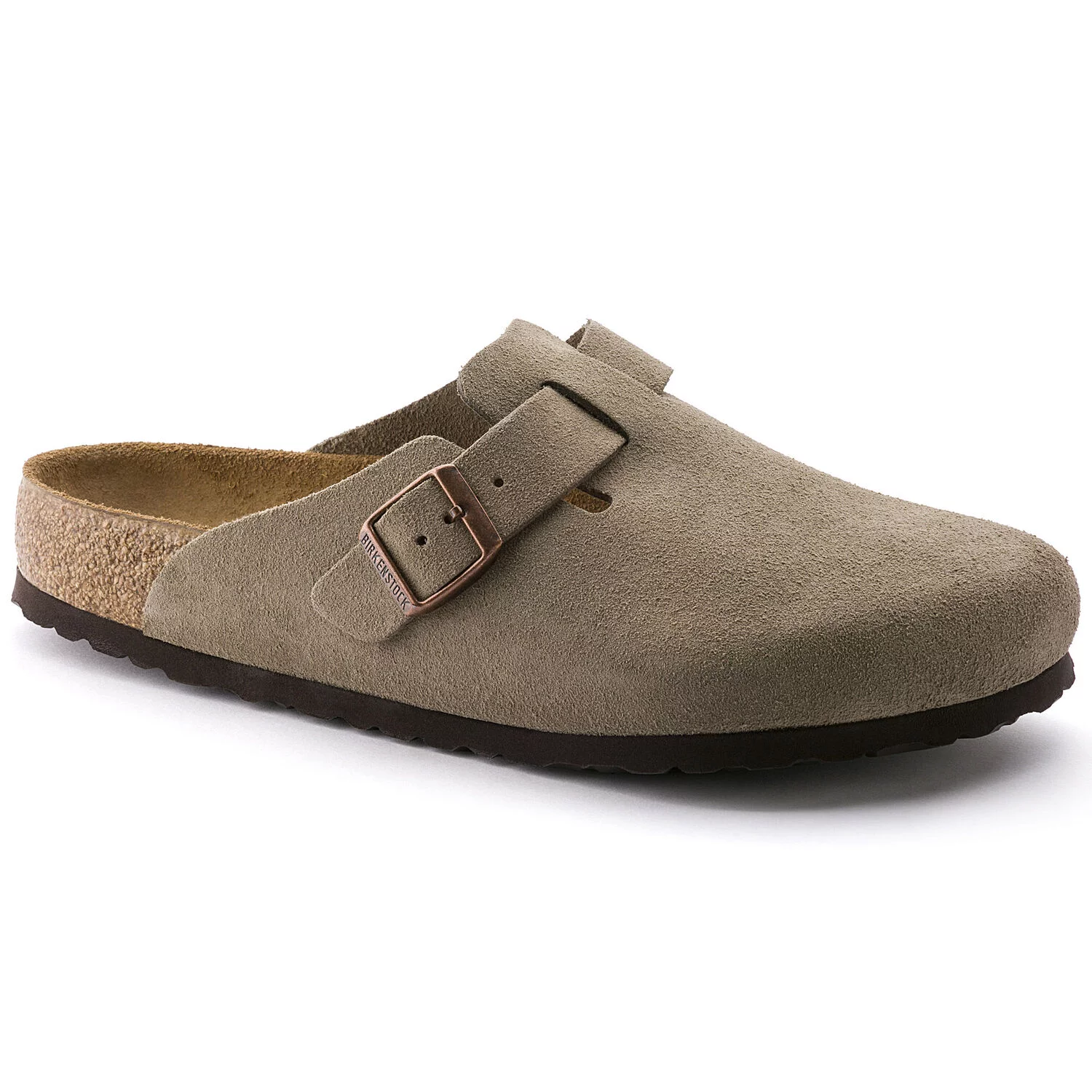 Birkenstock Boston BS Taupe Soft-Footbed