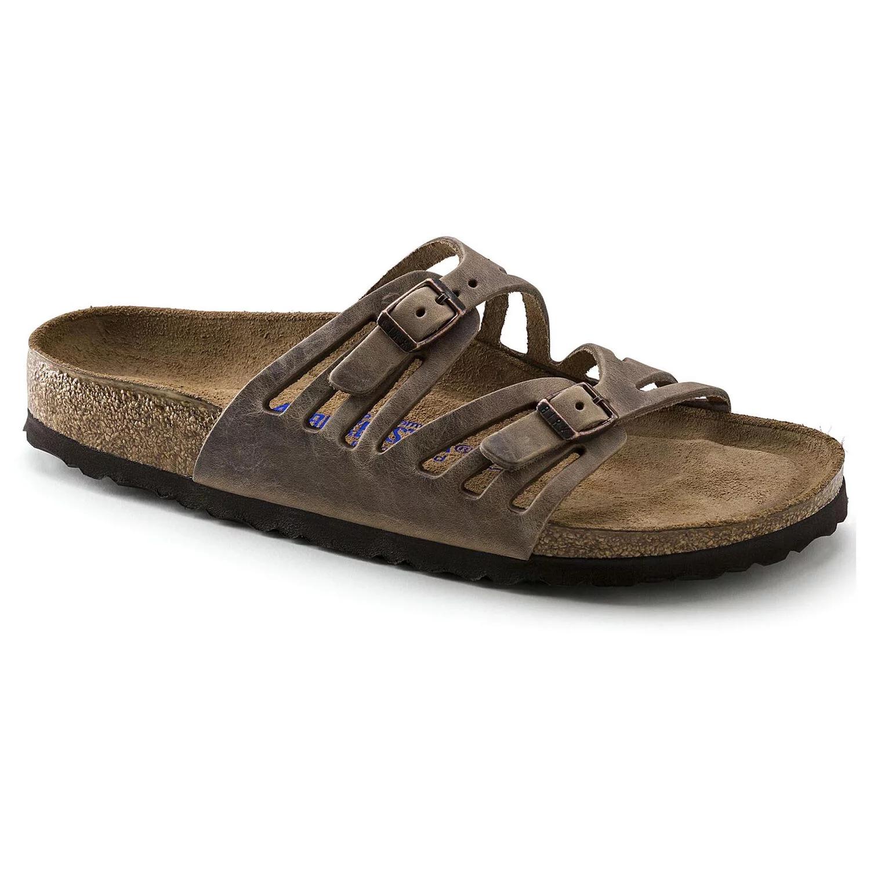 Birkenstock Granada Soft Footbed Tobacco Oiled Leather