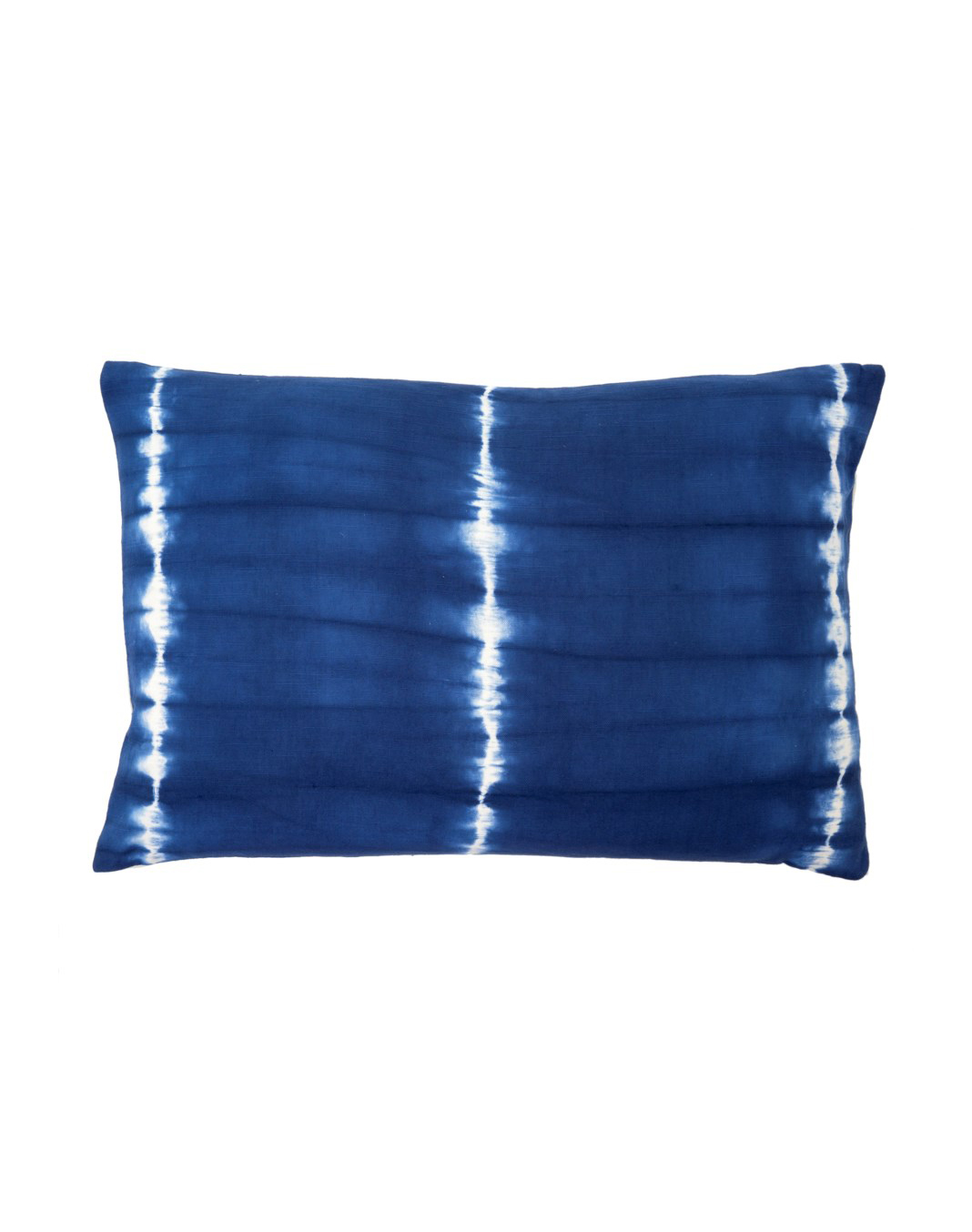 Dark Indigo Shibori Pillow 16x24