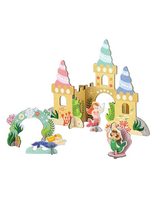 Mermaid Castle Pop Out
