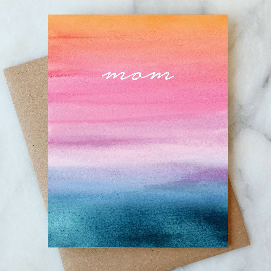 Mom Watercolor Card
