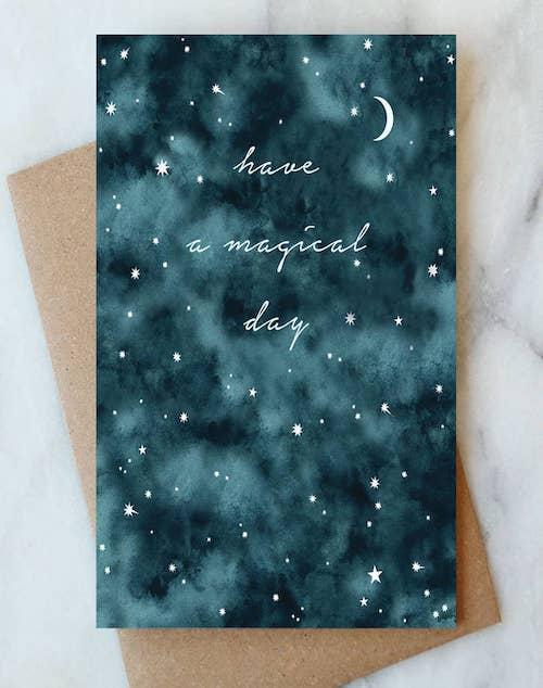 Night Sky Birthday Card